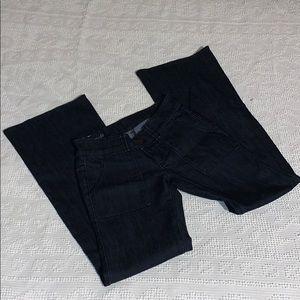Ann Taylor Modern Fit Wide Leg Jeans
